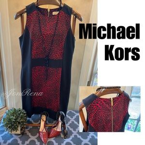 🔥😍MK Cheetah Dress | Michael Kors SIZE 12🔥